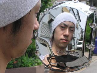 鏡面メッキ